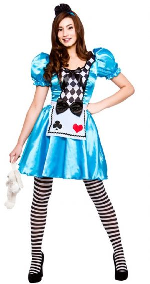 Storybook Alice in Wonderland Plus Size Costume (EF2221)